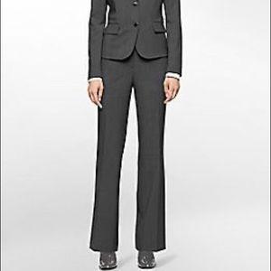 Calvin Klein Curvy Fit Suit Pants